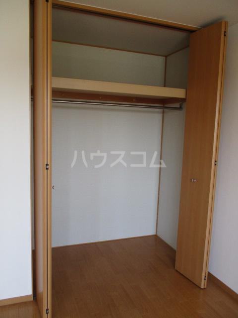 ジェミニパレス EAST 201号室の収納