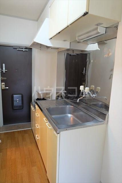 カルデアB棟 205号室のキッチン