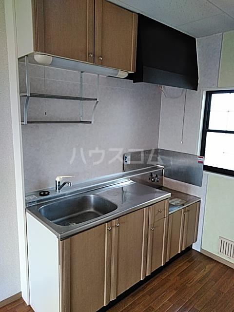 ウッディベル 203号室のキッチン