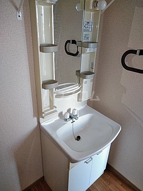 ウッディベル 203号室の洗面所
