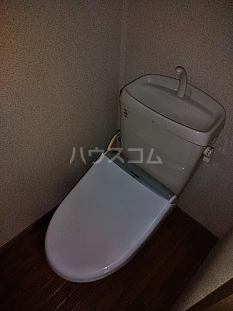 ウッディベル 203号室のトイレ