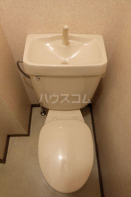 メゾンタカキュー 302号室のトイレ