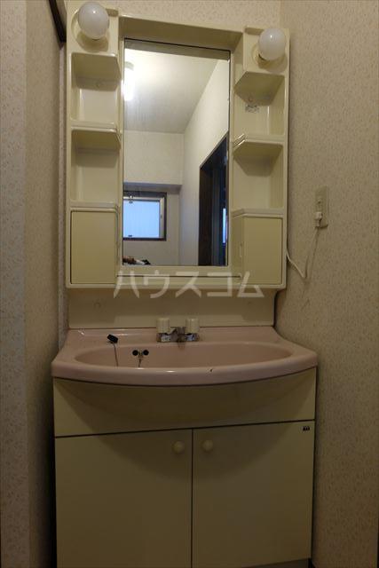 メゾンタカキュー 302号室の洗面所