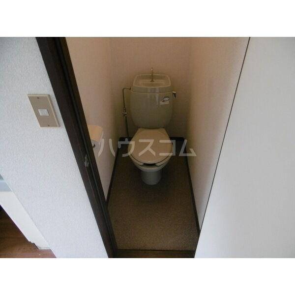 メゾンキャロット 202号室のトイレ