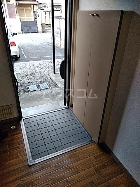 リリックハイツ駅南 202号室の玄関