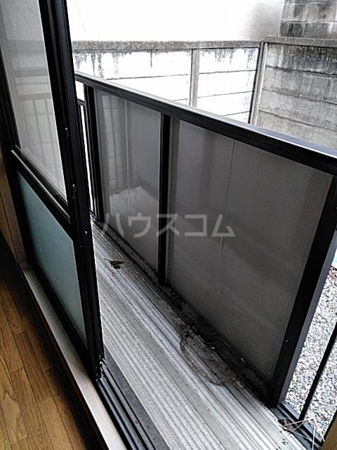 リリックハイツ駅南 202号室のバルコニー