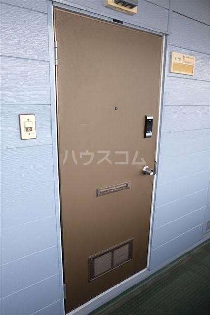本郷ハイツ A 206号室の玄関