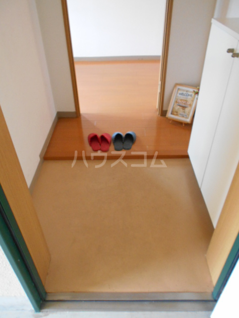 ハイツBF Ⅰ 202号室の玄関