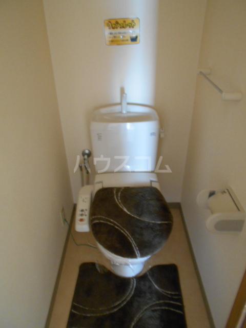 ハイツBF Ⅰ 202号室のトイレ