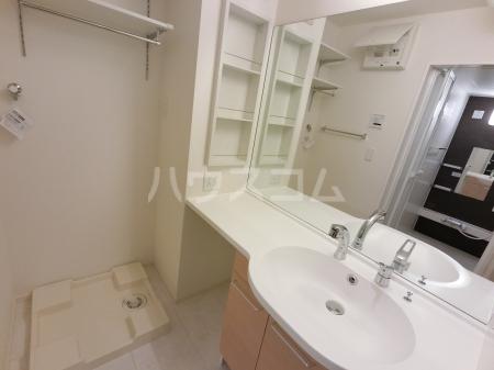 ジュピター A 203号室の洗面所