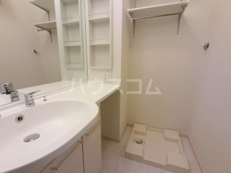エール ド クラージュ B 102号室の洗面所