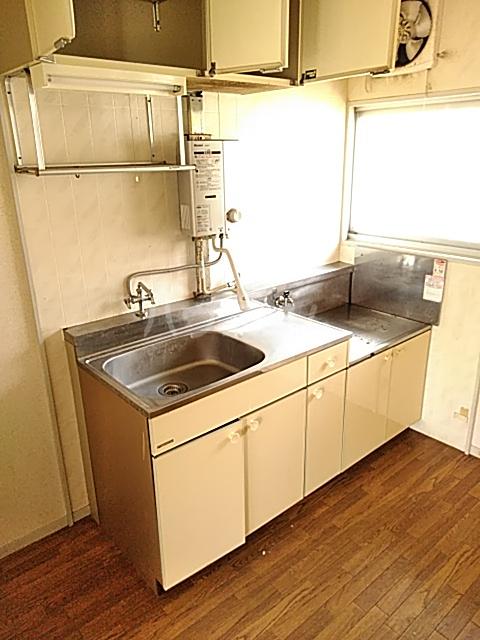 ハイグレード峯岸Ⅱ 203号室のキッチン