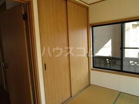 カルムイマイズミ 101号室のベッドルーム