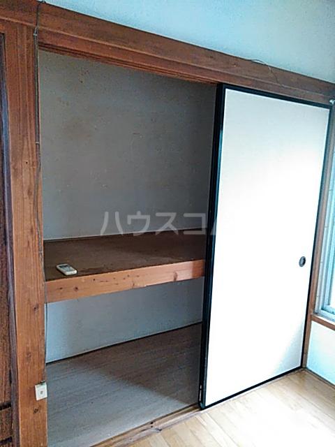 高木ハイツA 103号室の収納