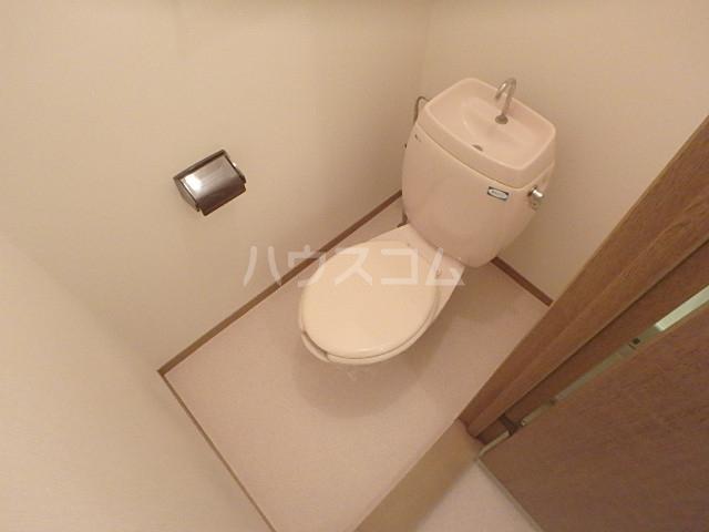 フローレンス志免 203号室のトイレ