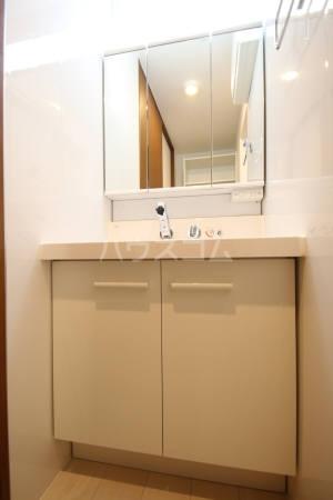 グラシュージャルダン 203号室の洗面所