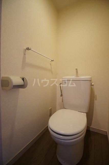 レキシントンスクエア駅南 602号室のトイレ