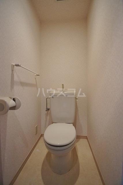 レキシントンスクエア駅南 802号室のトイレ