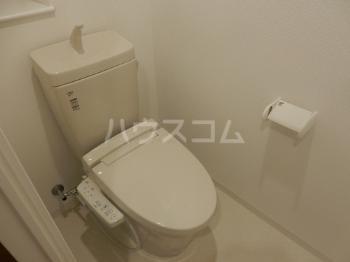 Sophia Garden博多 402号室のトイレ