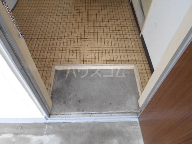 ハイツみずほ 202号室の玄関