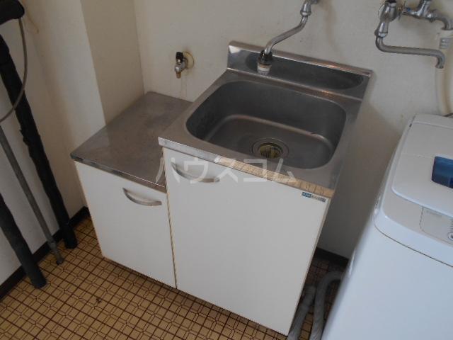 ハイツみずほ 202号室のキッチン
