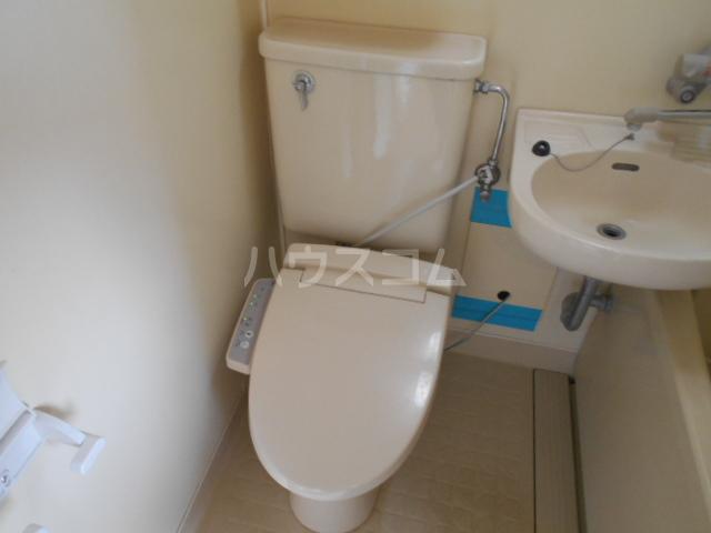 ハイツみずほ 202号室のトイレ