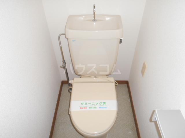 エール1 203号室のトイレ