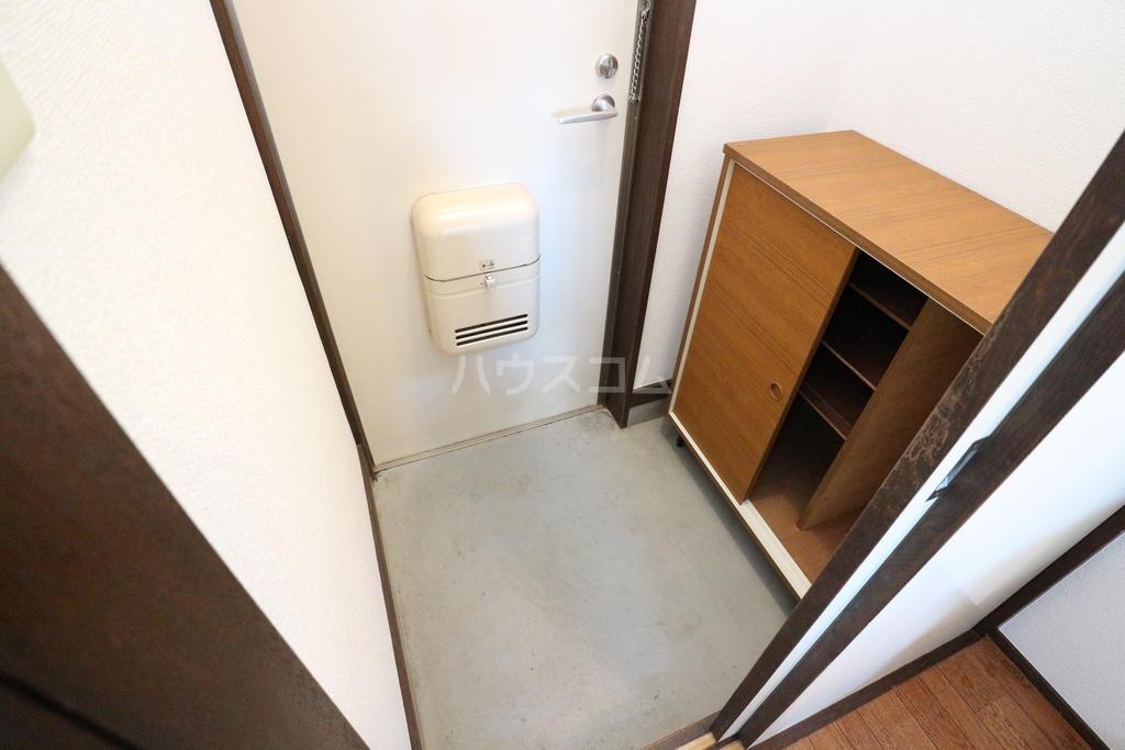 シャレル戸谷塚C 7号室の玄関