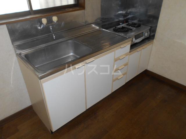 下城ハイツD 203号室のキッチン