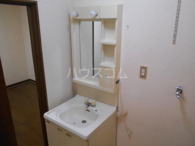 下城ハイツD 203号室の洗面所