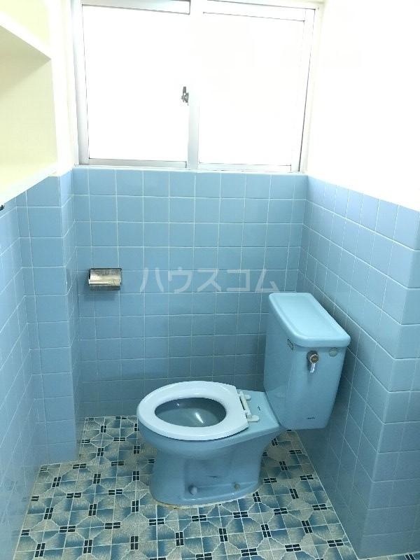 寿荘 101号室のトイレ