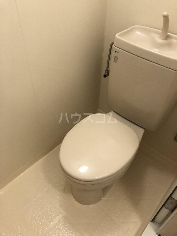 シャングリラ風 207号室のトイレ