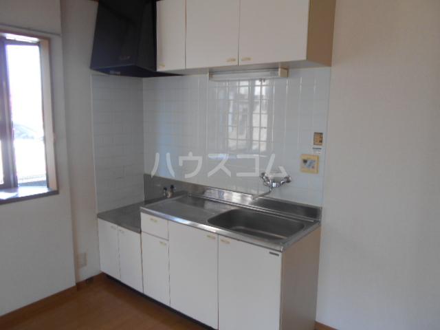 レジデンス恵 301号室のキッチン