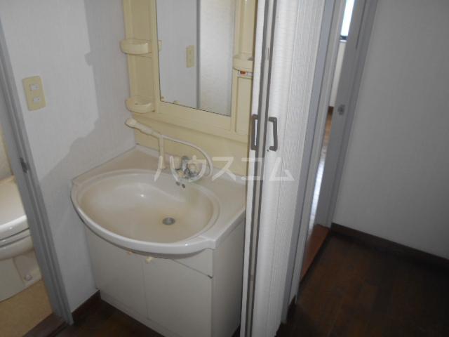 木村ハイツA 202号室の洗面所