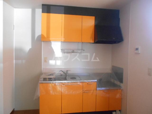 ロワール D棟 101号室のキッチン
