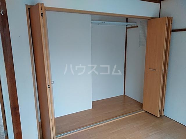 津久井ミネルバ館 201号室の収納