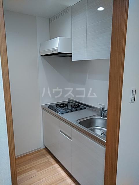ソウジュ古曽部 101号室のキッチン