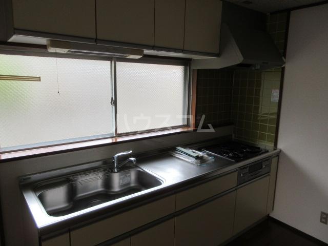 備前堀フラット 105号室のキッチン