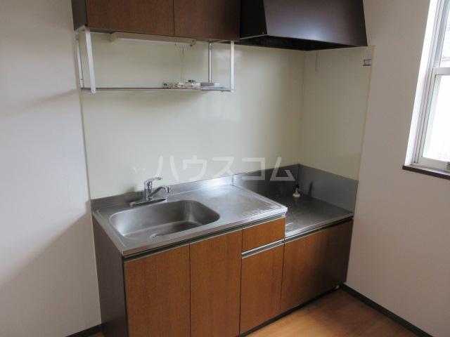 マンハイム笹野E棟 A102号室のキッチン