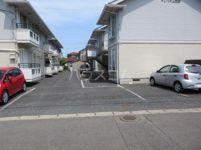 マンハイム笹野E棟 D102号室の駐車場