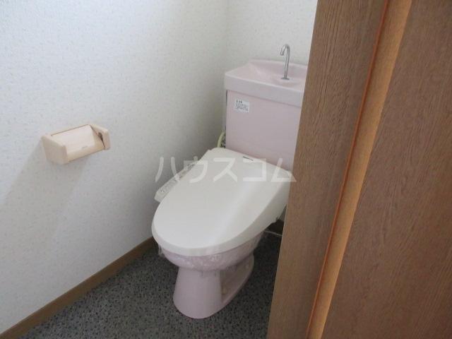 ギャラクシーのトイレ