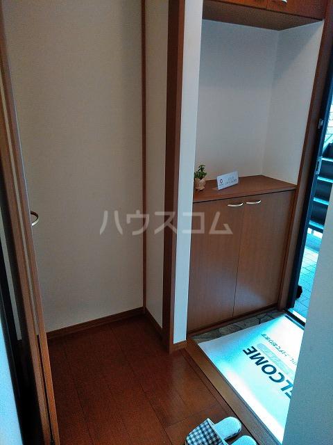 リジェール東山崎 A棟 202号室の玄関