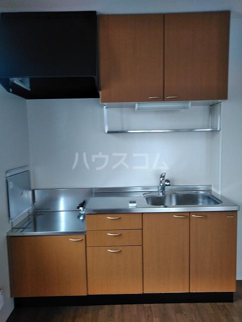 リジェール東山崎 A棟 202号室のキッチン