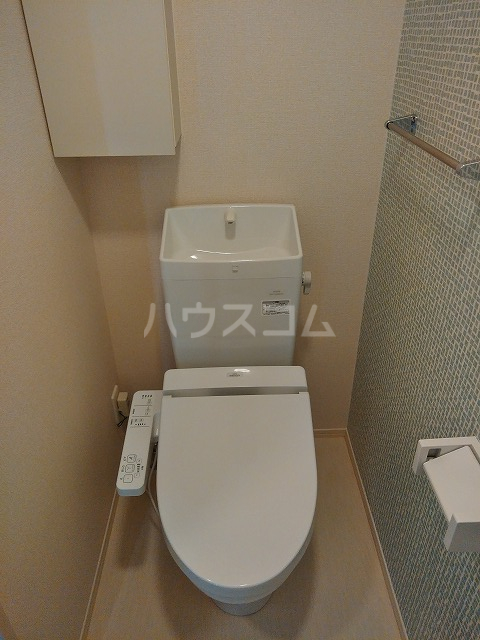 プランドール 106号室のトイレ