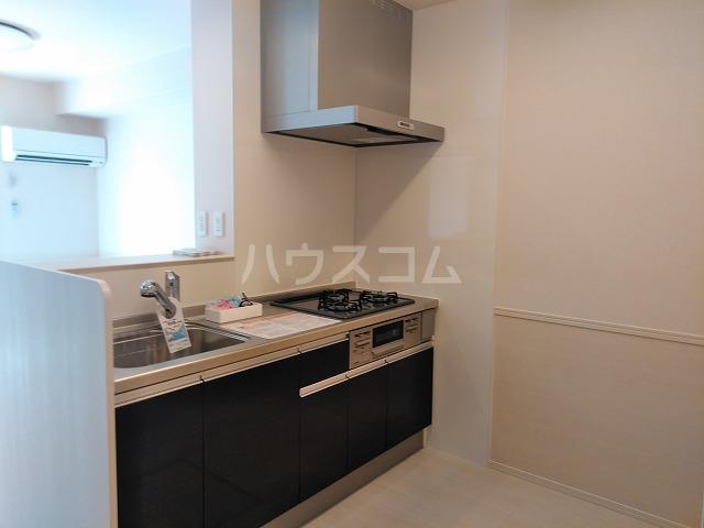 プランドール 106号室のキッチン