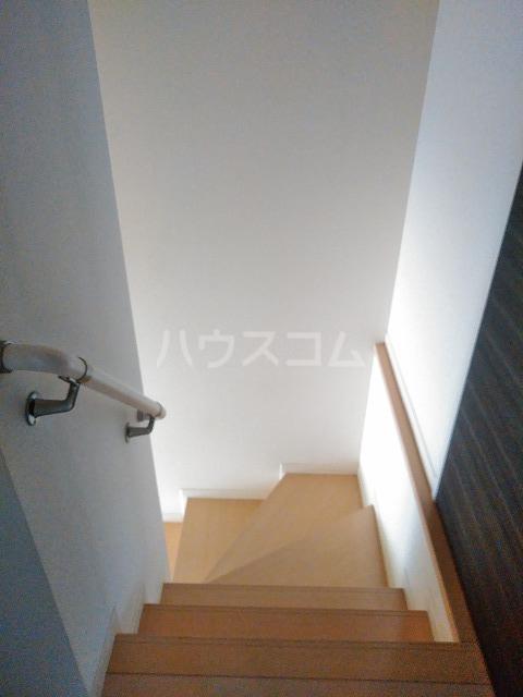 プランドール A棟 A202号室の玄関