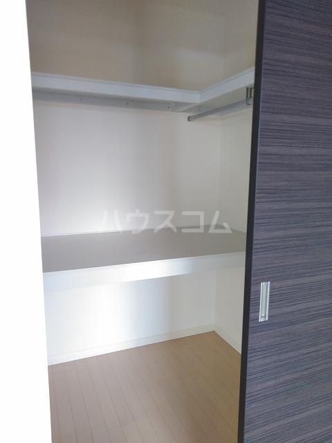 プランドール A棟 A202号室の収納