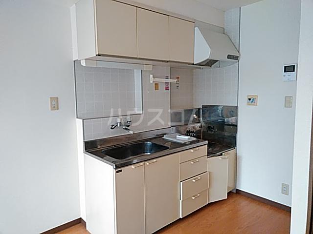 第2藤ハイツ 202号室のキッチン