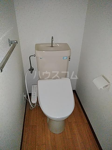 第2藤ハイツ 202号室のトイレ