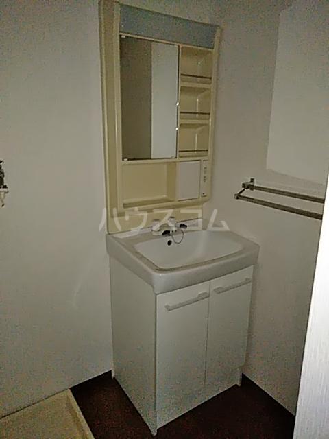 第2藤ハイツ 202号室の洗面所